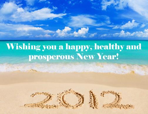 Happy new year2012