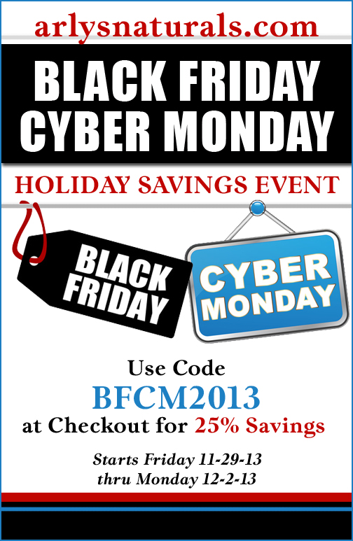 Black Friday Cyber Monday Savings Aromatherapy Contessa