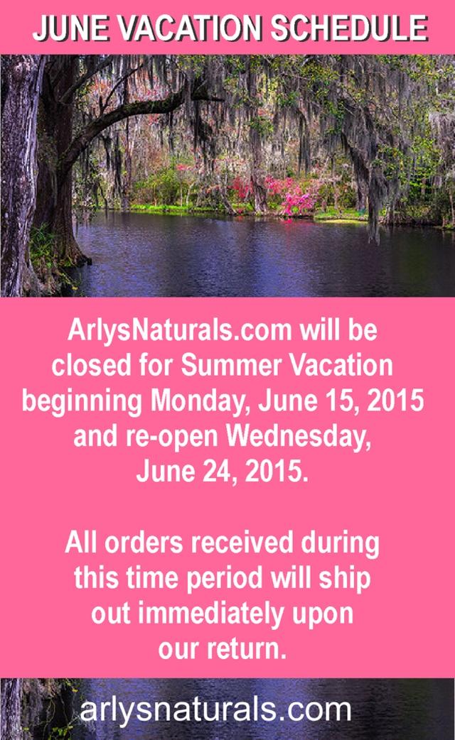 ArlysJune2015VacationSchedulee