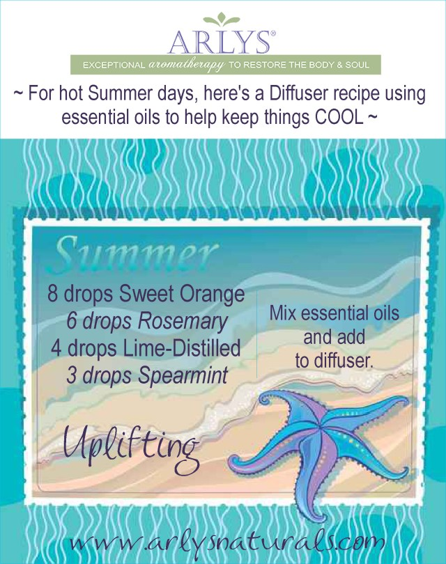 July2016 Summer Diffuser Recipe