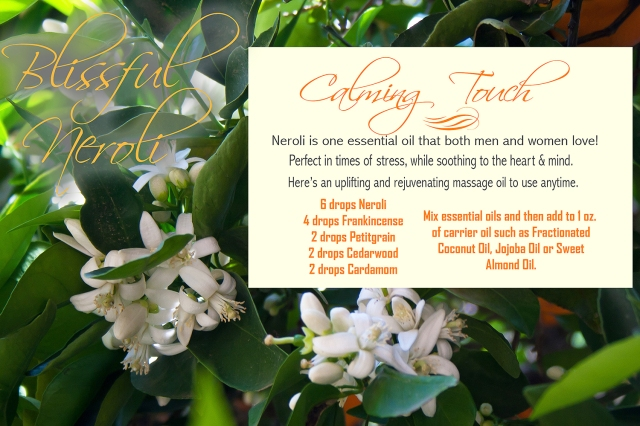 Blissful Neroli Recipe June 2017