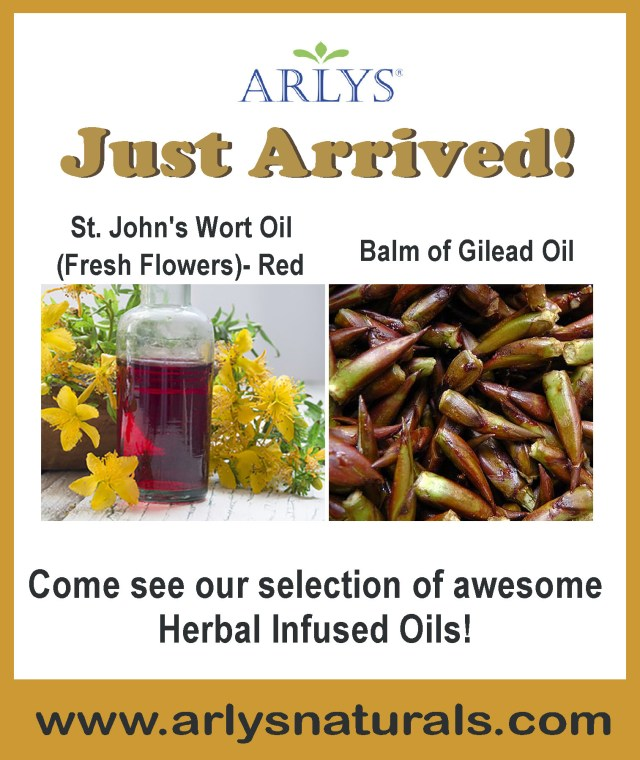 Oct 2017 Ad Herbal Infused Oils