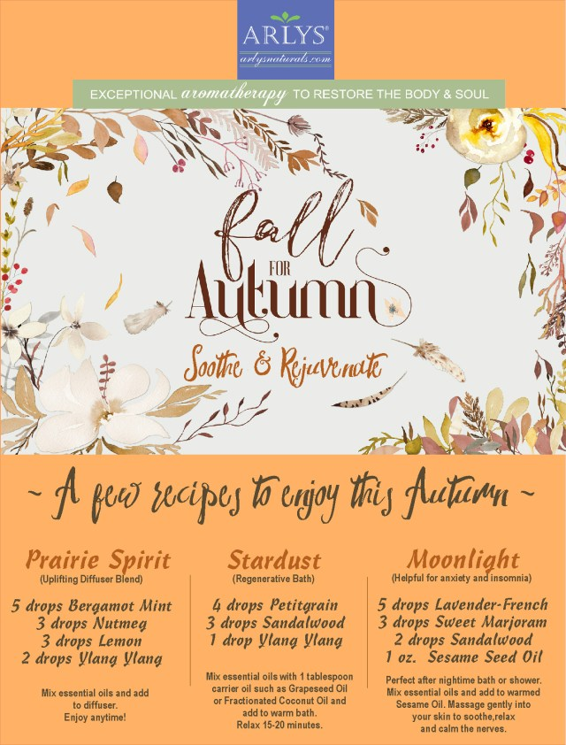 Oct 2017 Fall for Autumn Recipes