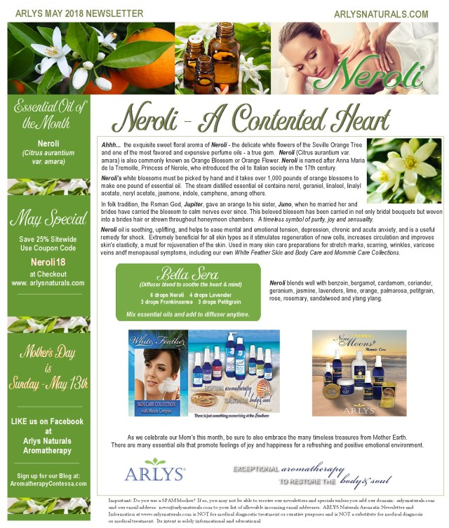 May 2018 Neroli Newsletter1
