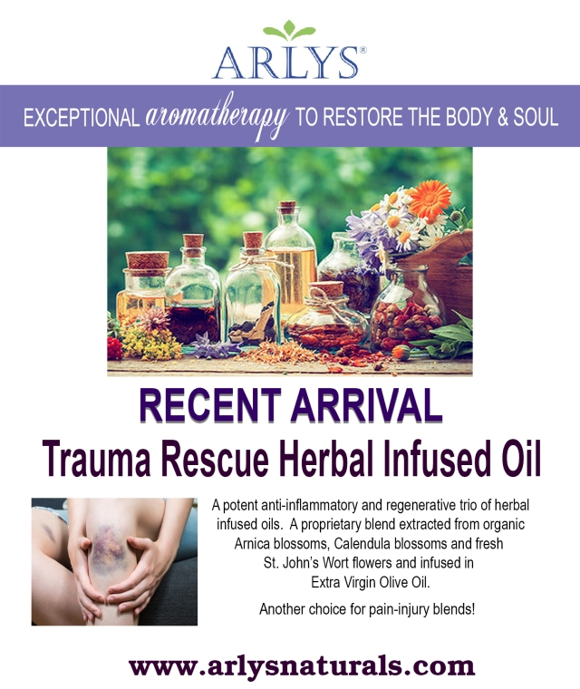Arlys Trauma Rescue Oil Ad Sept. 2018
