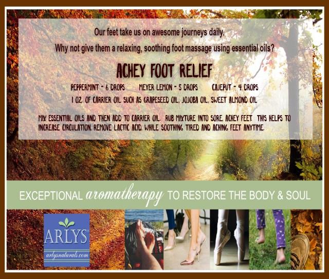 Oct 2018 Achey Foot Relief