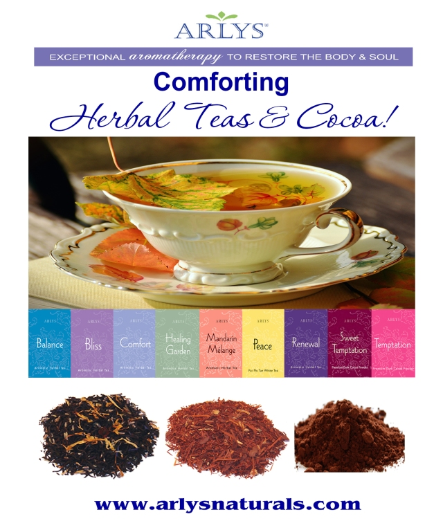 Oct 2018 Comforting Herbal Teas Cocoa