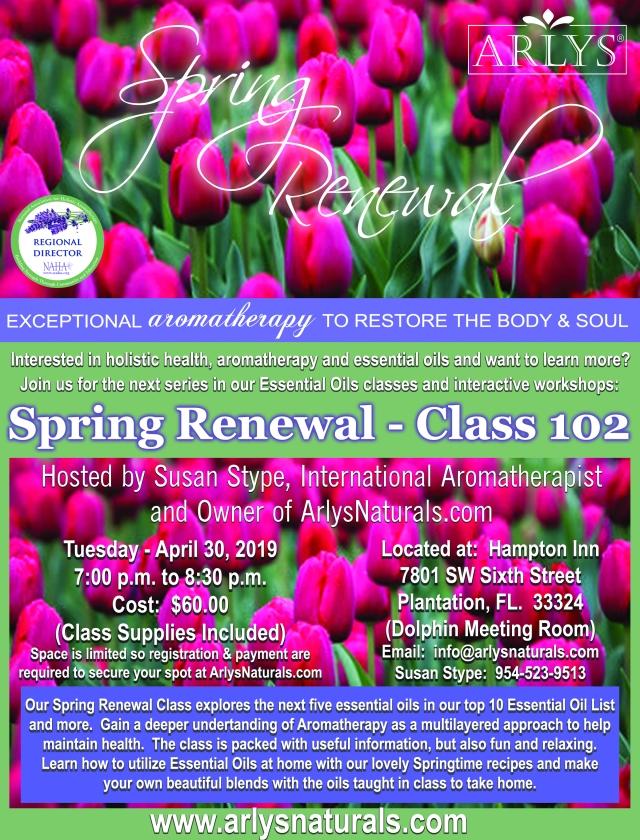 Spring Renewal Class Flyer Final 4-30-19