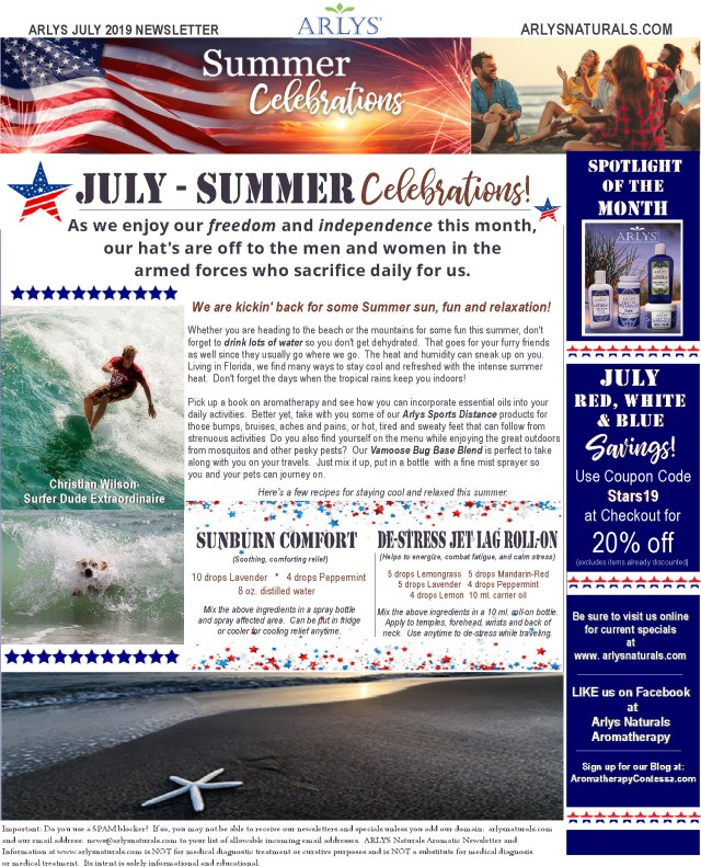 July 2019 Summer Newsletter2