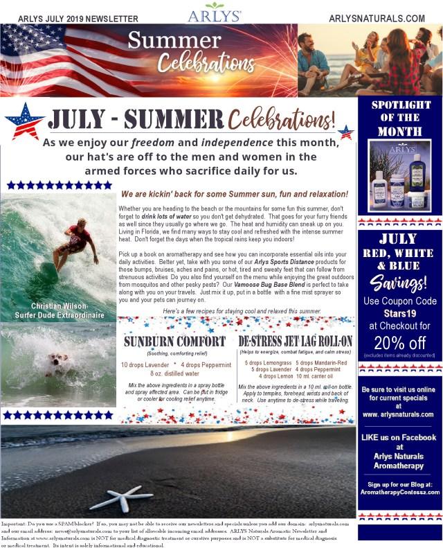 July 2019 Summer Newsletter2