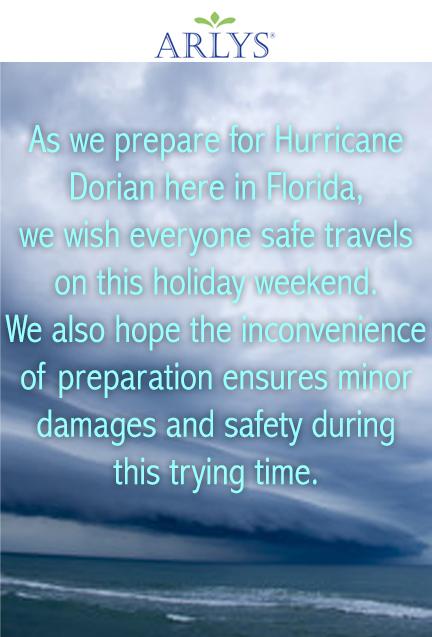 Aug. 2019 Hurricane Dorian1