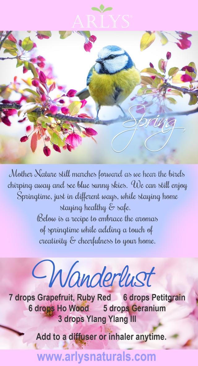 April 2020 Wanderlust Recipe