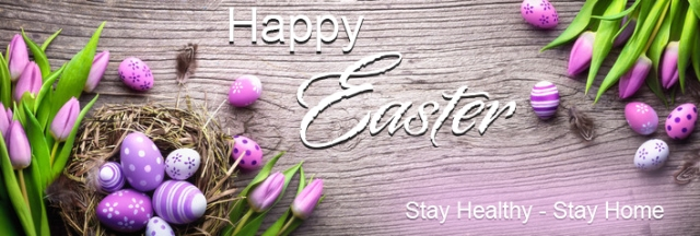 Happy Easter April 2020